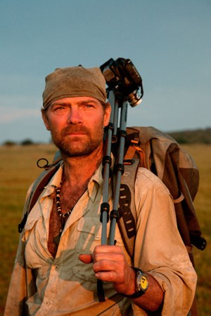 Survivorman Les Shroud via blog.ChaseJarvis.com