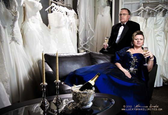 I love the 007/ soap opera drama we used at this shoot. If you're ever in Estes Park, Colorado check out The White Orchid Bridal. Diane has so many amazing dresses!