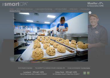 Barista Pro Shop in-house tasty treat production, web thumbnail gallery