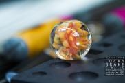 20130719 Jackie McKinny Studio glass blowing-57