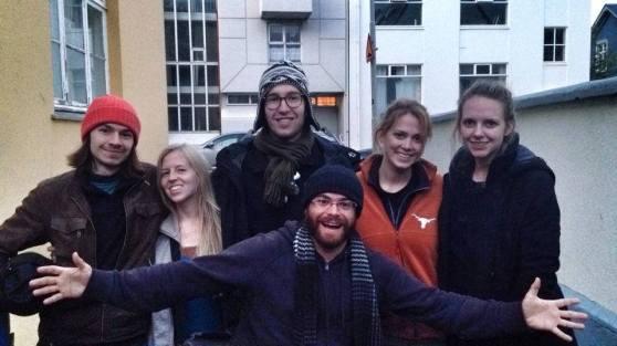 Jake, Hannah, Patrick, Mandi, Sarah and Chad