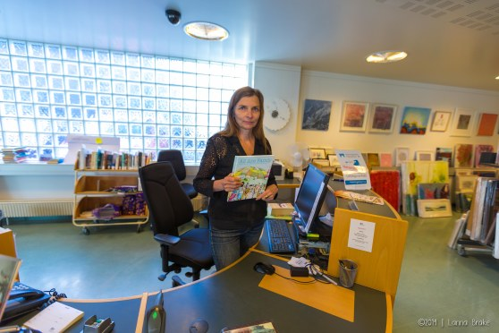 Loveland's Marissa Bloom officially has a book in the children's section of the Reykjavik City Library!